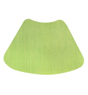 Trace Basketweave Wedge Placemat Green