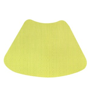 Trace Basketweave Wedge Placemat Yellow