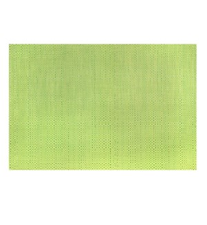 Trace Basketweave Placemat Green
