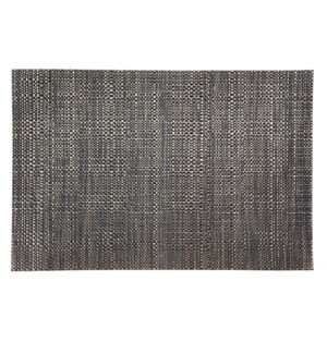 Trace Basketweave Placemat Black