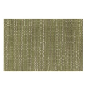 Trace Basketweave Placemat Olive