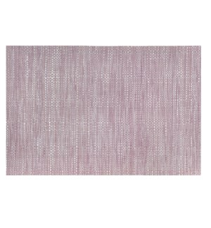 Trace Basketweave Placemat Violet