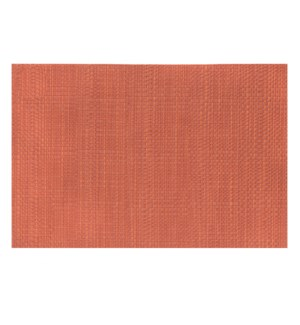 Trace Basketweave Placemat Russet
