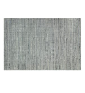 Trace Basketweave Placemat Grey