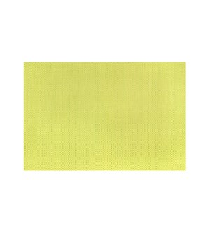 Trace Basketweave Table Runner Yellow