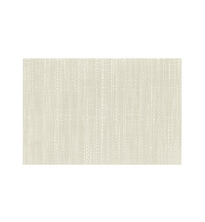 Trace Basketweave Table Runner White