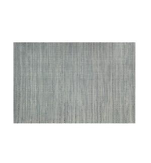 Trace Basketweave Table Runner Grey