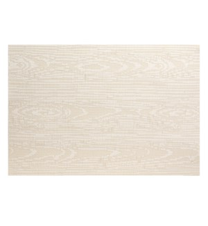 Wood Grain Vinyl Placemat Birch