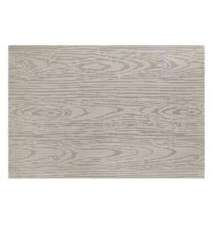 Wood Grain Vinyl Placemat Champagne