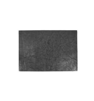 Erie Reversible Table Luxe Placemat Black