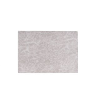 Erie Reversible Table Luxe Placemat Grey
