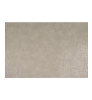 Fossil Table Luxe Reversible Placemat Stone