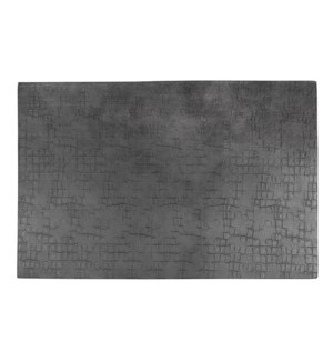Fossil Table Luxe Reversible Placemat Grey