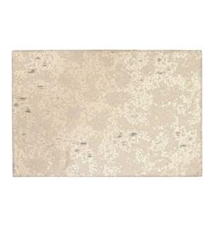 Marble Reversible Vinyl Placemat Gold