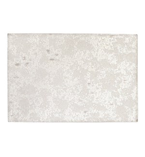 Marble Reversible Vinyl Placemat Champagne