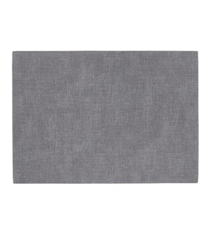 Percept Reversible Luxe Placemat Charcoal