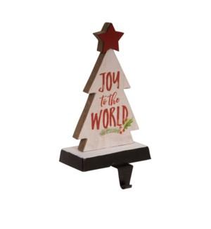 Joy To The World Stocking Holder Multi