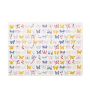 Butterfly Kiddo Soft Touch Placemat Pink