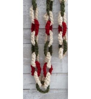 Knit Garland Wall Art Multi