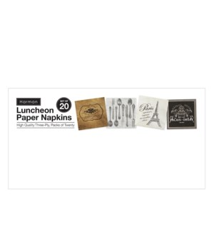 Sign - Luncheon Paper Napkins Multi