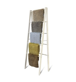 Bath Mat Display Stand White