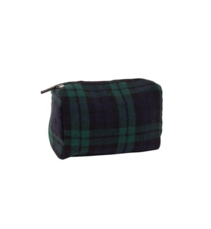 Northern Check Travel Bag Green/Blue