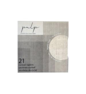 Volume 1 Cocktail Napkin 21 pc Linen