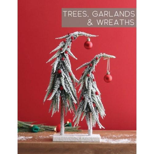 Trees, Garlands & Wreaths