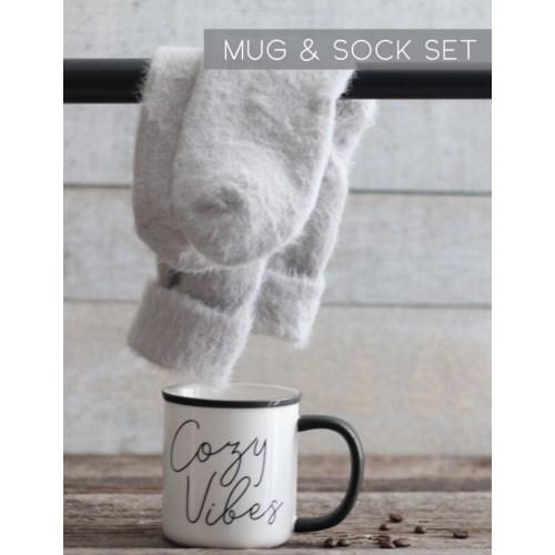 Mug and Sock