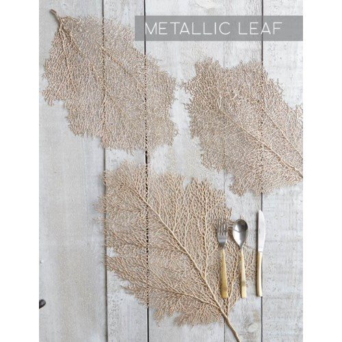 Metallic Leaf Collection