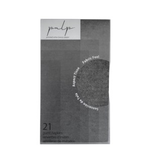 Volume 1 Guest Napkin 21 pc Black