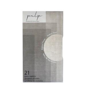 Volume 1 Guest Napkin 21 pc Linen