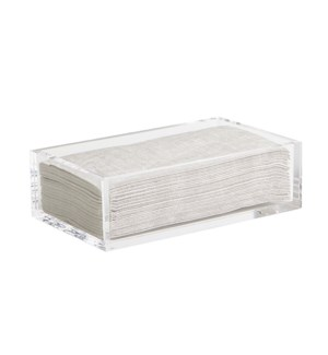Infinity Napkin Holder Guest Clear