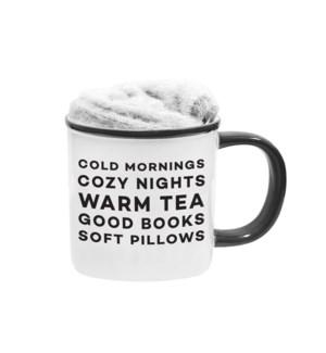 Cold Mornings Kozie Mug And Sock Set