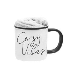 Cozy Vibes Kozie Mug And Sock Set