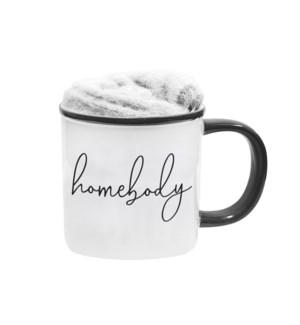 Homebody Kozie Mug And Sock Set
