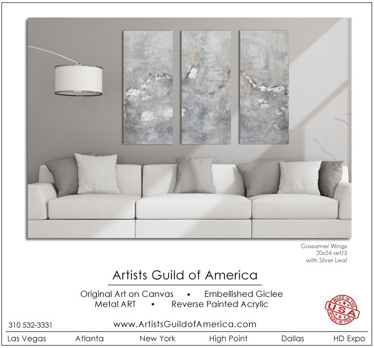 Chute D'or s/3 GALLERY WRAP