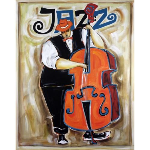 Jazz Bleu GALLERY WRAP