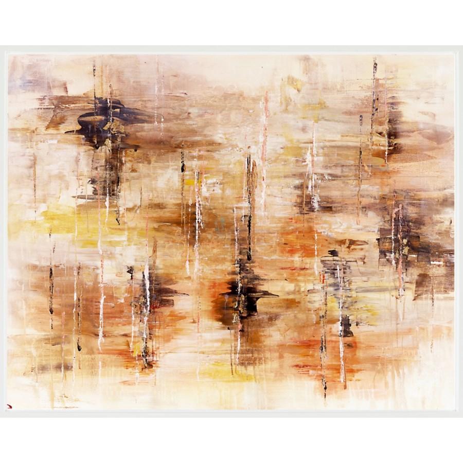 Falling Leaves w/LAGUNA WHITE