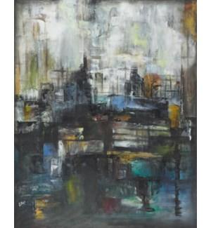 Nuit Sur le Pont  GALLERY WRAP