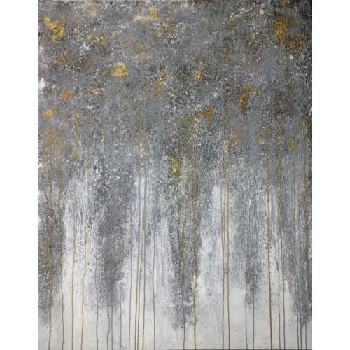 Silver Rain GALLERY WRAP