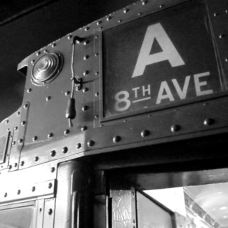 8th Ave - Printed on Brushed Aluminum