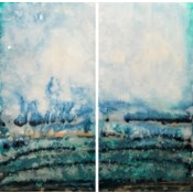 Lissa - Reverse Painted Lucite