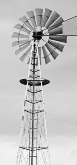 Wind Mill - Printed on Brushed Aluminum