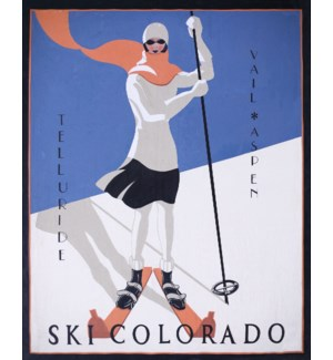 Ski Colorado GALLERY WRAP