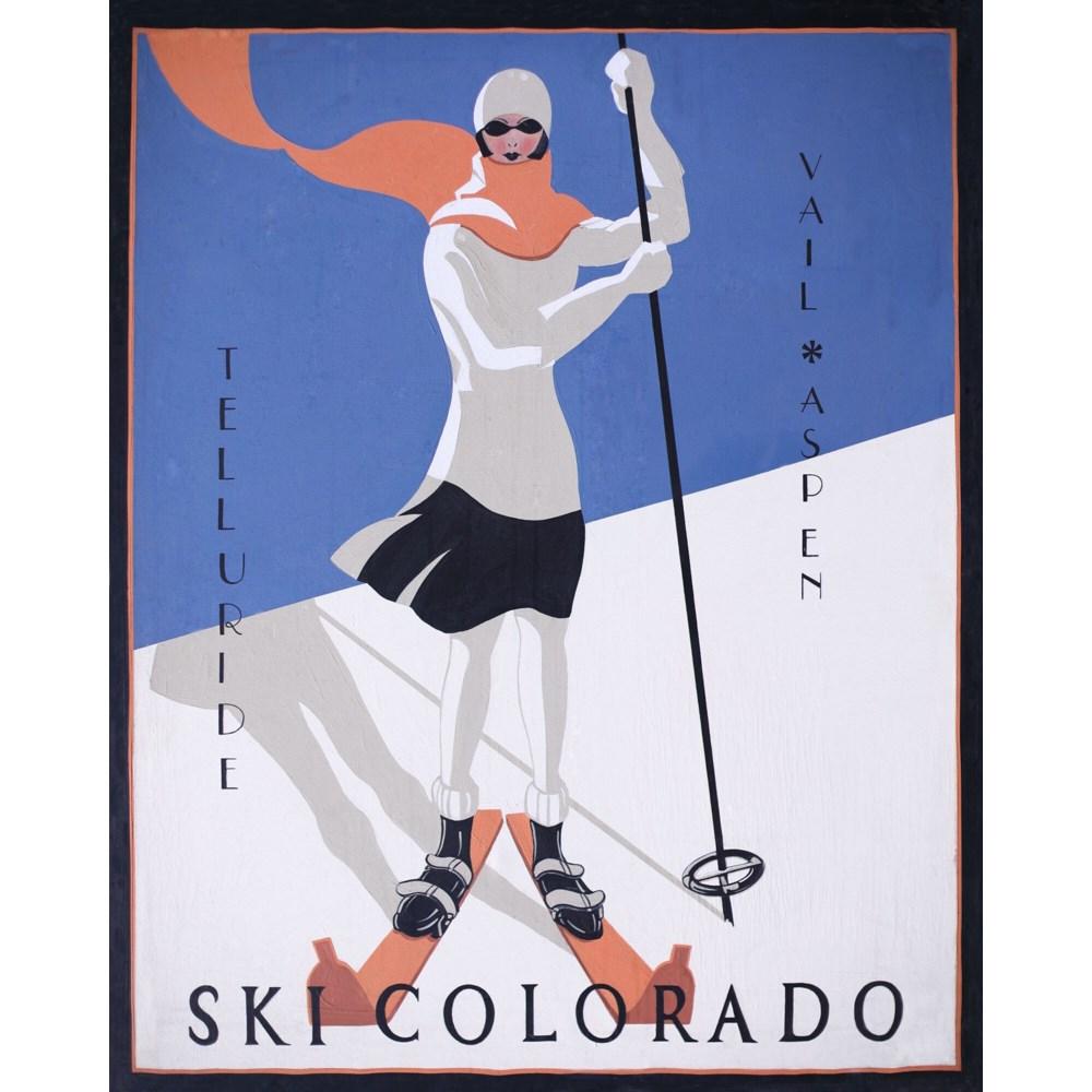 Ski Colorado GALLERY WRAP