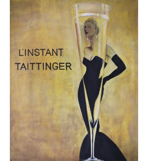 L'instant Taittinger GALLERY WRAP