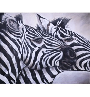 Zebra Duo GALLERY WRAP