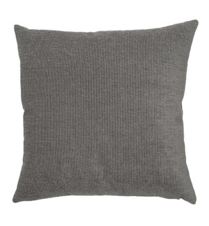 "Addison - Charcoal -  Pillow - 22"" x 22"""