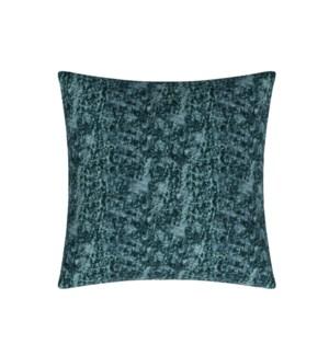 """Aleksin - Lagoon - Toss Pillow - 26"""" x 26"""""""